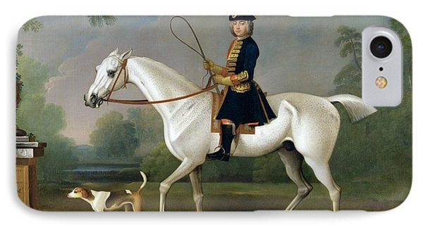 Sir Roger Burgoyne Riding 'badger' IPhone Case