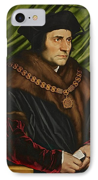 Sir Thomas More IPhone Case by War Is Hell Store
