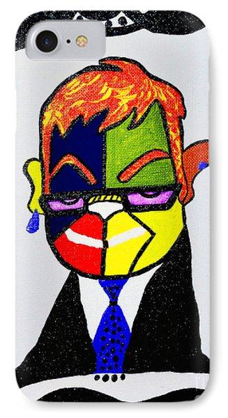 Sir,elton  IPhone Case by Davids Digits
