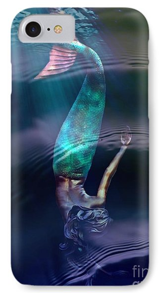 Sirena IPhone Case by Lilliana Mendez