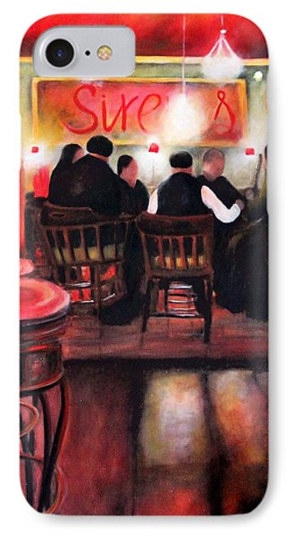 Sirens Pub IPhone Case by Marti Green