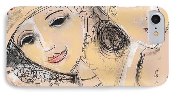 Sisters IPhone Case by Elaine Lanoue