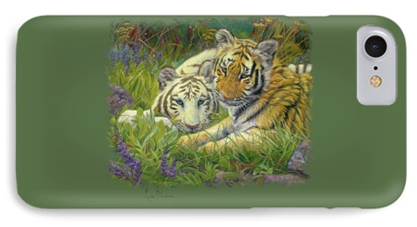 Sisters IPhone Case by Lucie Bilodeau