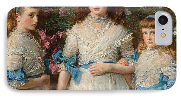 Sisters IPhone Case by Sir John Everett Millais
