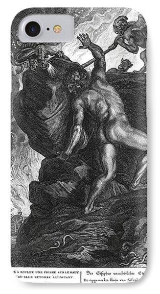 Sisyphus Stone IPhone Case by Granger