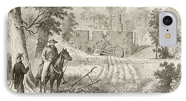 Site Of The Battle Of Gaines  Mill IPhone Case by Vintage Design Pics
