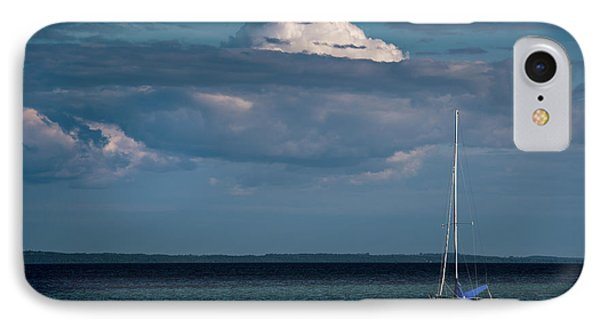 IPhone Case featuring the photograph Sittin By The Bay by Onyonet  Photo Studios