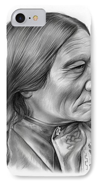 Sitting Bull IPhone Case by Greg Joens
