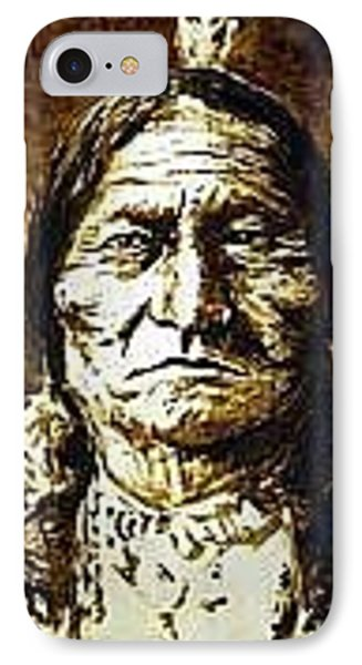 Sitting Bull Phone Case by Kevin Heaney