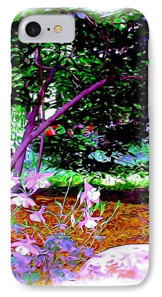 IPhone Case featuring the painting Sitting In The Shade by Patricia Griffin Brett