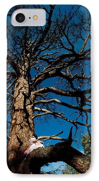 Sitting In Tree 2 Phone Case by Scott Sawyer