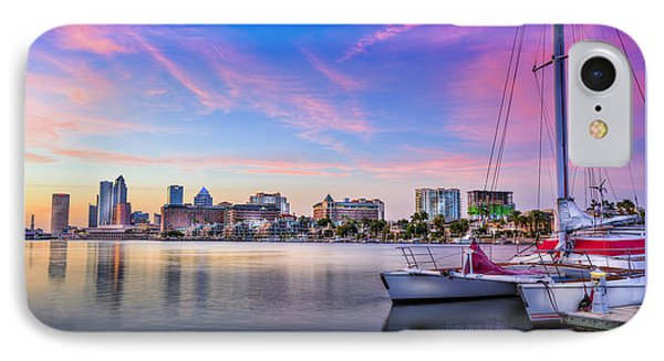 Sitting On The Dock Of The Bay IPhone Case by Marvin Spates