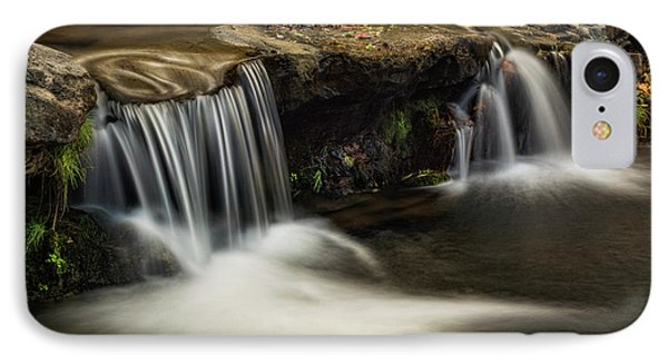 IPhone Case featuring the photograph Sitting Under The Waterfall  by Saija Lehtonen