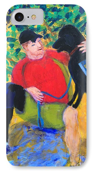 IPhone Case featuring the painting One Team Two Heroes-4 by Donald J Ryker III