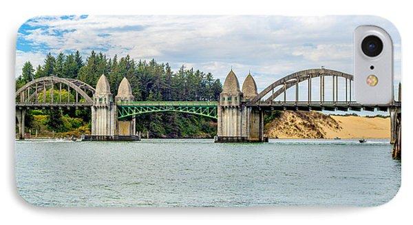 Siuslaw River Draw Bridge  IPhone Case