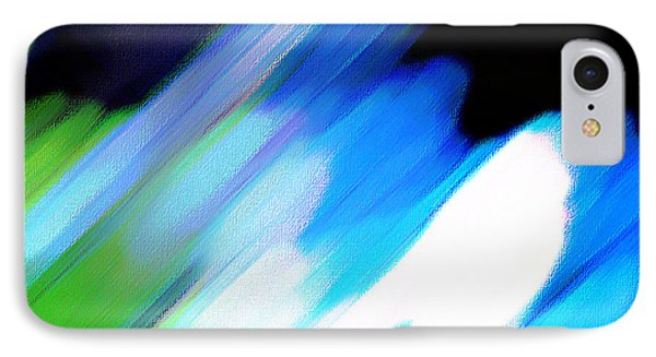 IPhone Case featuring the painting Sivilia 10 Abstract by Donna Corless