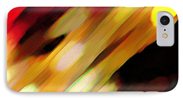 IPhone Case featuring the painting Sivilia 11 Abstract by Donna Corless