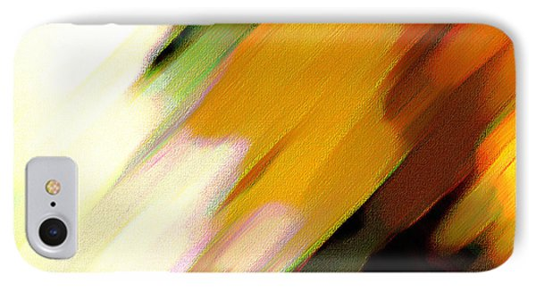 IPhone Case featuring the painting Sivilia 2 Abstract by Donna Corless