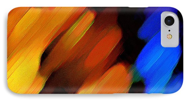 Sivilia 3 Abstract IPhone Case by Donna Corless