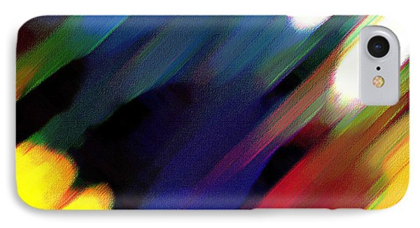 Sivilia 4 Abstract IPhone Case by Donna Corless