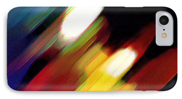 Sivilia 5 Abstract IPhone Case by Donna Corless