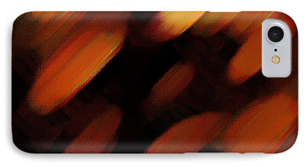 IPhone Case featuring the painting Sivilia 7 Abstract by Donna Corless