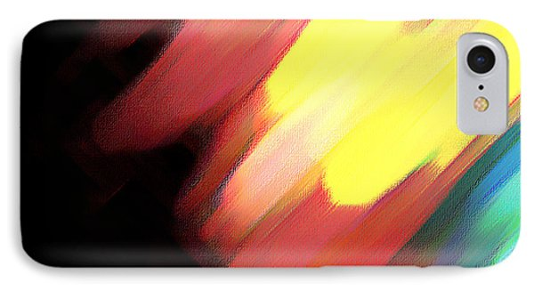 IPhone Case featuring the painting Sivilia 9 Abstract by Donna Corless