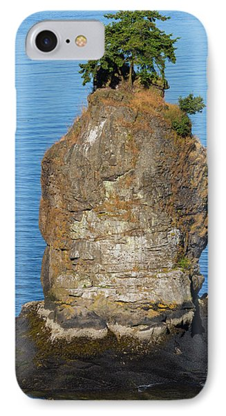 Siwash Rock By Stanley Park Phone Case by David Gn