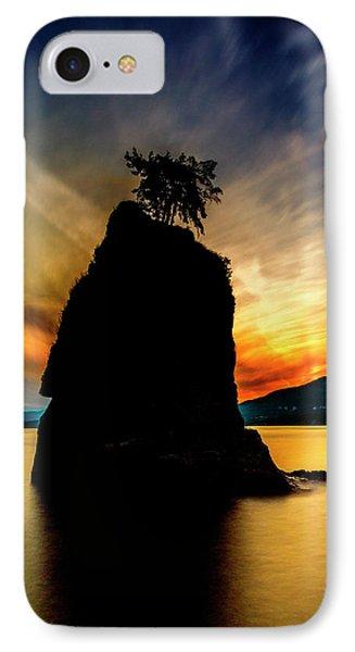 Siwash Sunset IPhone Case by Stephen Stookey