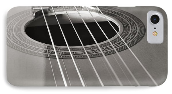 Six Guitar Strings IPhone Case by Angelo DeVal