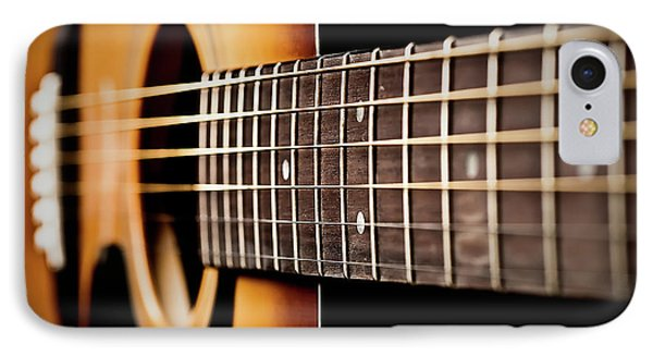 Six String Guitar IPhone Case by  Onyonet  Photo Studios