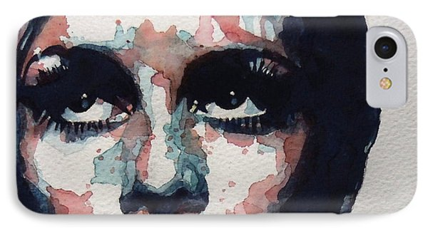 Sixties Sixties Sixties Twiggy Phone Case by Paul Lovering