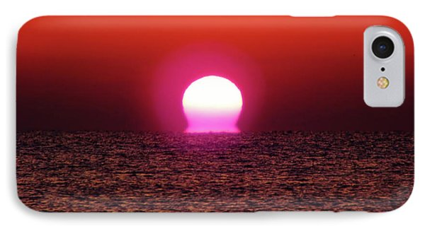 IPhone Case featuring the photograph Sizzling Sunrise by D Hackett
