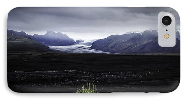 Skaftafellsjokull Glacier IPhone Case