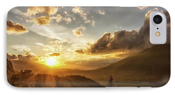 Skagit Valley Sunset IPhone Case by Charlie Duncan