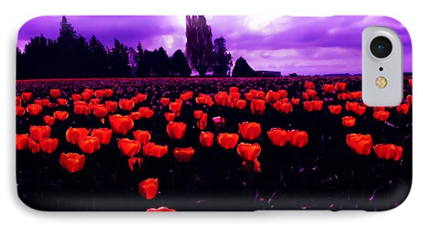 Skagit Valley Tulips IPhone Case