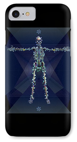 Skeletal System IPhone Case by Iowan Stone-Flowers