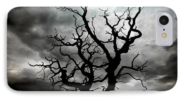 Skeletal Tree Phone Case by Meirion Matthias