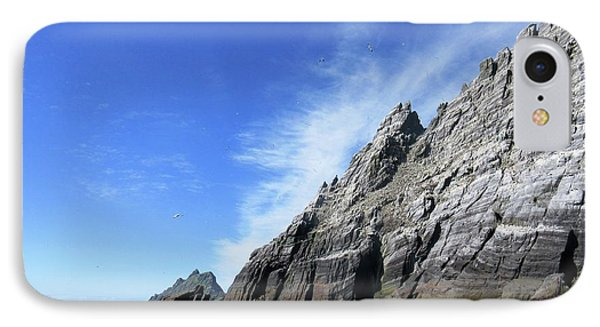 Skellig Islands 7 IPhone Case by Crystal Rosene