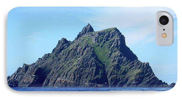 Skellig Islands 8 IPhone Case by Crystal Rosene