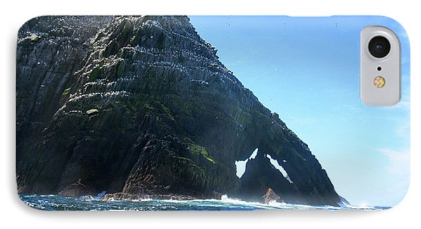 Skellig Islands IPhone Case by Crystal Rosene