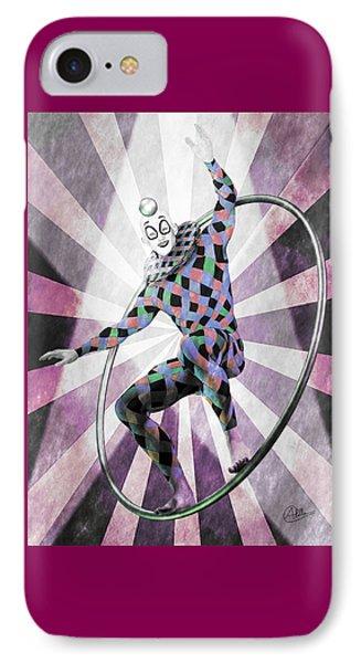 Sketch Circus IPhone Case by Quim Abella
