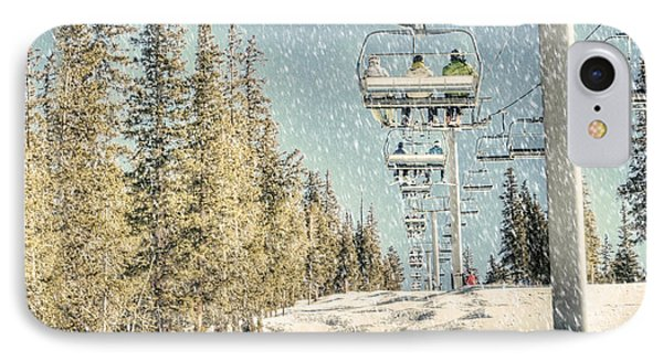 Ski Colorado IPhone Case by Juli Scalzi