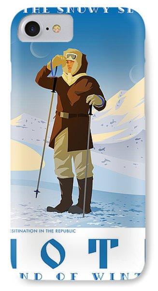 Ski Hoth IPhone Case