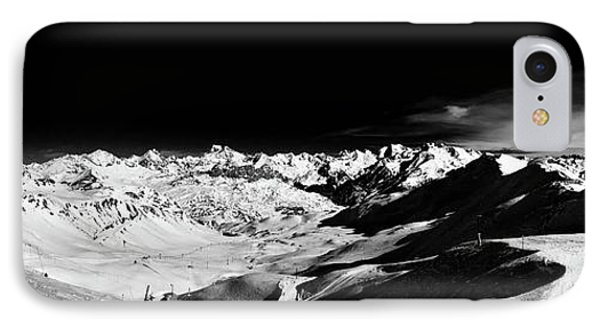 Ski Panorama IPhone Case by Contemporary Art
