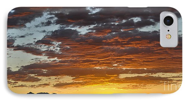 Skies Of Gold IPhone Case by Gina Savage