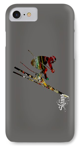 Skiing Collection IPhone Case