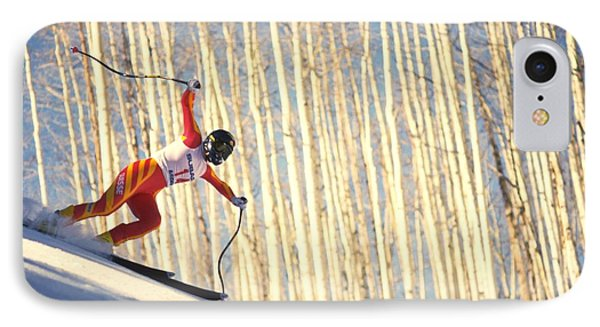 Skiing In Aspen, Colorado IPhone 7 Case
