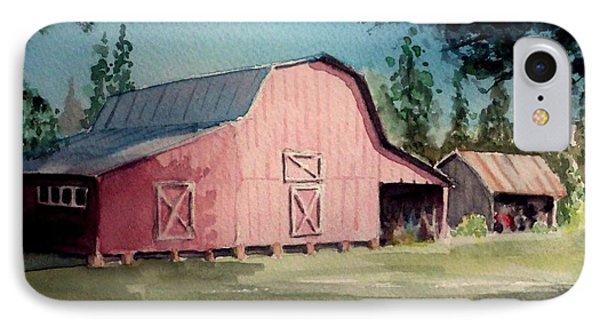 Skip Kelly's Barn IPhone Case