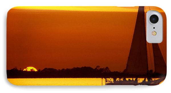 Skipjack Sunset IPhone Case